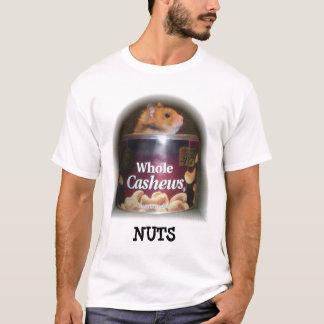 Camiseta Nuts divertida