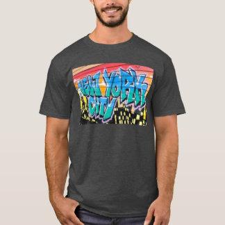 camiseta ny de la cadera de New York City de la