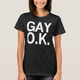 Camiseta O.K. GAY Tee