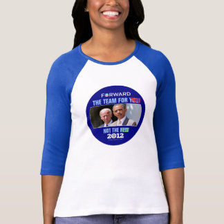 Camiseta Obama Biden 2012: El equipo para USTED