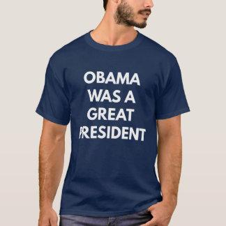 Camiseta Obama era gran presidente