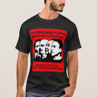 Camiseta Obama no tiene ninguna experiencia -
