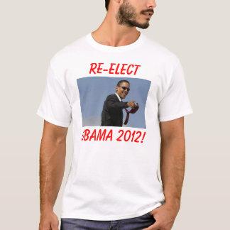 Camiseta ¡obama, REELIGE, OBAMA 2012!