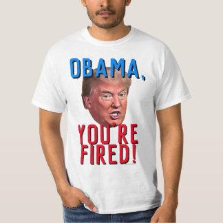Camiseta Obama usted es favorable Donald Trump divertido