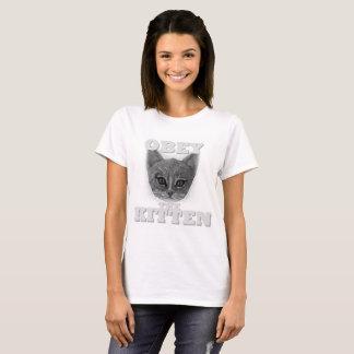 Camiseta Obedezca el gatito