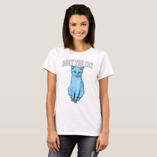 Camiseta Obedezca el gato