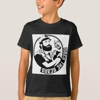 Camiseta Obedezca la barba