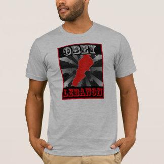 Camiseta Obedezca Líbano
