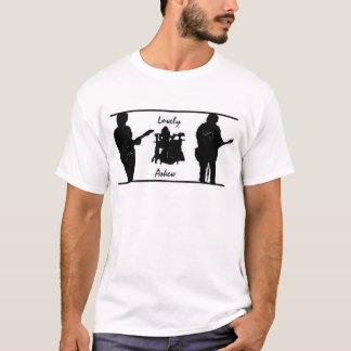 Camiseta oblicua preciosa de la banda