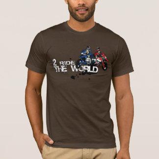 Camiseta obra clásica marrón 2RTW