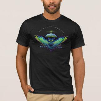 Camiseta Observe la radio del testigo que poseemos la