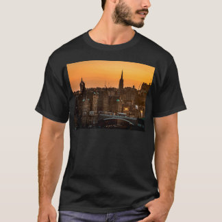 Camiseta Ocaso del horizonte de Edimburgo
