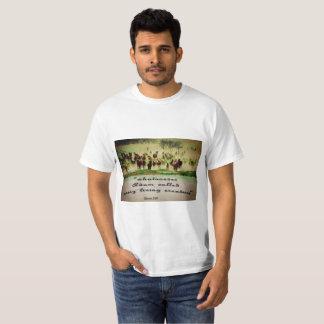Camiseta occidental, cristiana