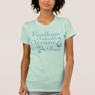 Camiseta Océanos sostenibles Alliance de Fordham
