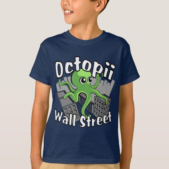 Camiseta ¡Octopii Wall Street - ocupe Wall Street!