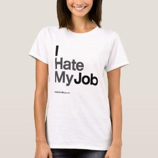 Camiseta Odio mi ~ del trabajo por HateCLUBapparel