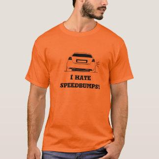 Camiseta ¡Odio speedbumps!