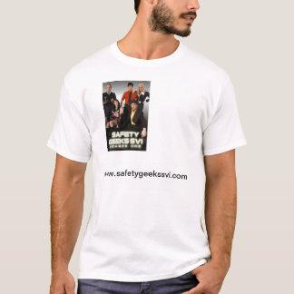 Camiseta oficial de los frikis de la seguridad