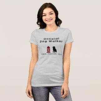 Camiseta oficial del caminante del perro