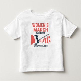 Camiseta oficial del niño de marzo San Diego de