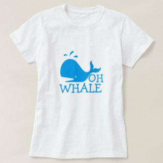 Camiseta Oh ballena