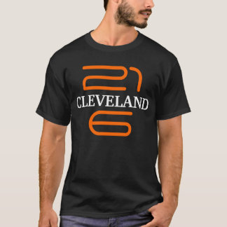 Camiseta Ohio Brown anaranjado negro de la