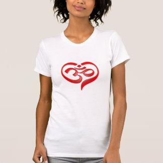 Camiseta ohmio del corazón