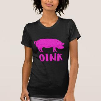 Camiseta Oink cerdo