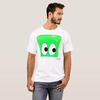 Camiseta Ojos GRANDES - verde del neón
