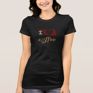 Camiseta Oklahoma, amo el café