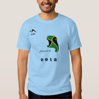 Camiseta olímpica azul 2012 de Jamaica