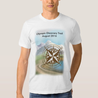 Camiseta olímpica del paseo del rastro del
