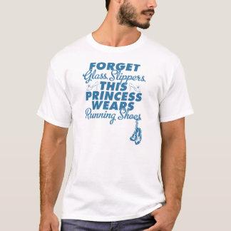 Camiseta Olvide los deslizadores de cristal, zapatillas