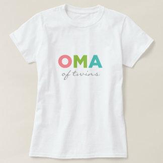 Camiseta Oma de gemelos