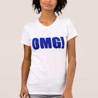 Camiseta ¡OMG! azul