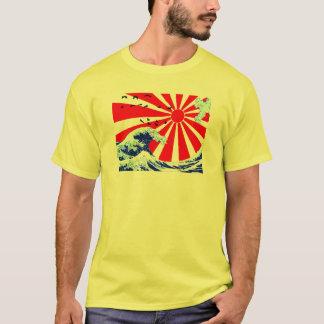 Camiseta Ondas del japonés