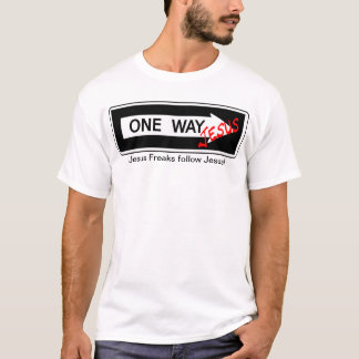 Camiseta One Way jesús