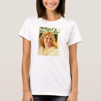 Camiseta Opereta de radio de la cubierta de Jeanette