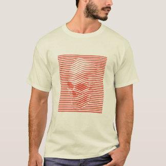 Camiseta óptica del cráneo