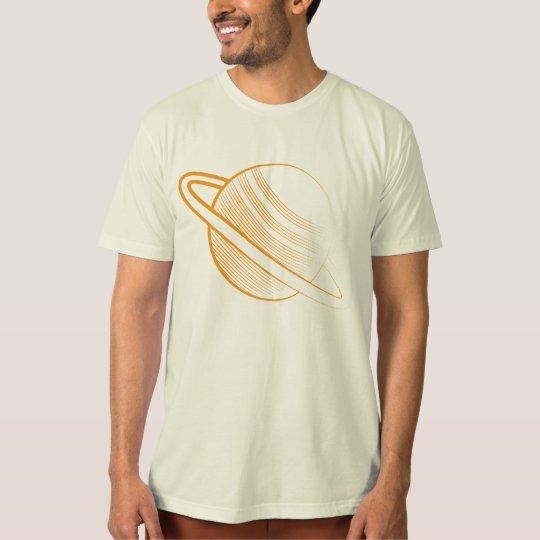 Camiseta Orange planet
