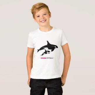 Camiseta Orcas de la madre y del bebé