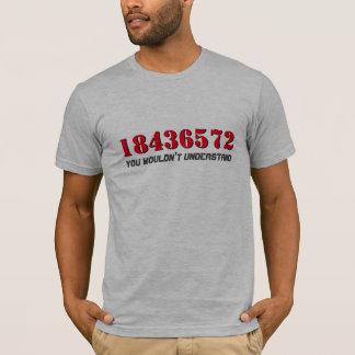 Camiseta orden de leña del 18436572% el pipe% el | que