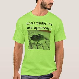 Camiseta Ordenador del camaleón