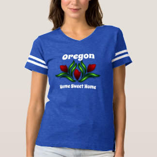 Camiseta Oregon o su hogar del dulce del hogar del estado