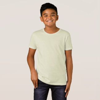 Camiseta orgánica de American Apparel de los niños