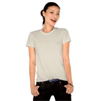 Camiseta orgánica de las señoras tropicales de los