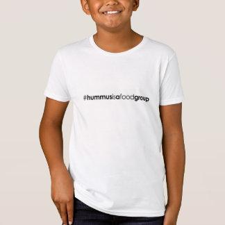 Camiseta orgánica del #hummusisafoodgroup de los