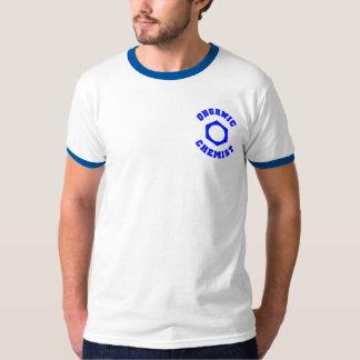 Camiseta orgánica del químico