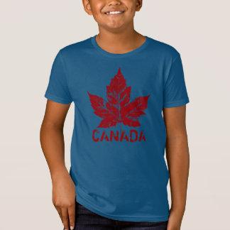 Camiseta orgánica retra de Canadá de Canadá del