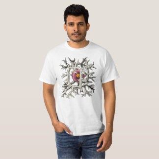 Camiseta organismo microscópico